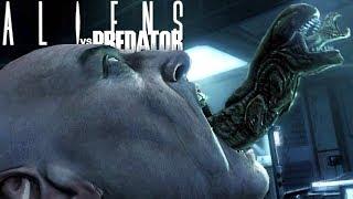 Aliens vs Predator - Fugindo Do Laboratório, História Do Alien! | Alien Campanha (#1) (PT-BR)