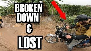 LOST IN A FOREIGN COUNTRY | Broke down 3 times in 1 Day. Southeast Asia Vlog 2