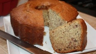 How To Make Banana Nut Bread.