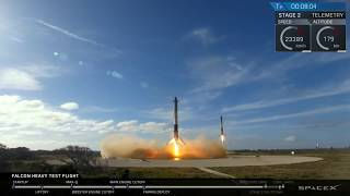 Falcon Heavy: Cinematic Launch Highlights, Landing (David Bowie)