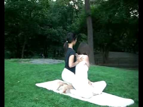 Thai Yoga Massage in Central Park NYC part 2