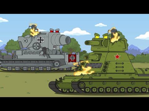 Бой гигантов - Мультики про танки