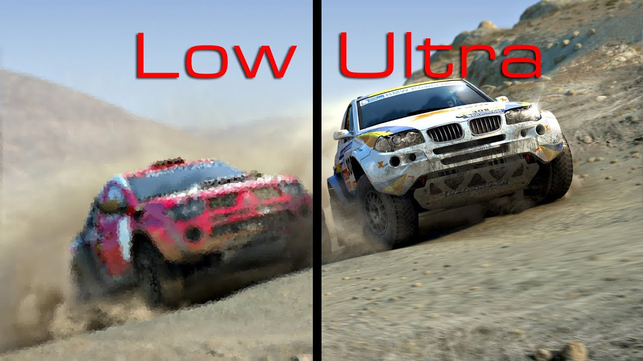 dirt rally dirt 4 low vs ultra youtube. Black Bedroom Furniture Sets. Home Design Ideas