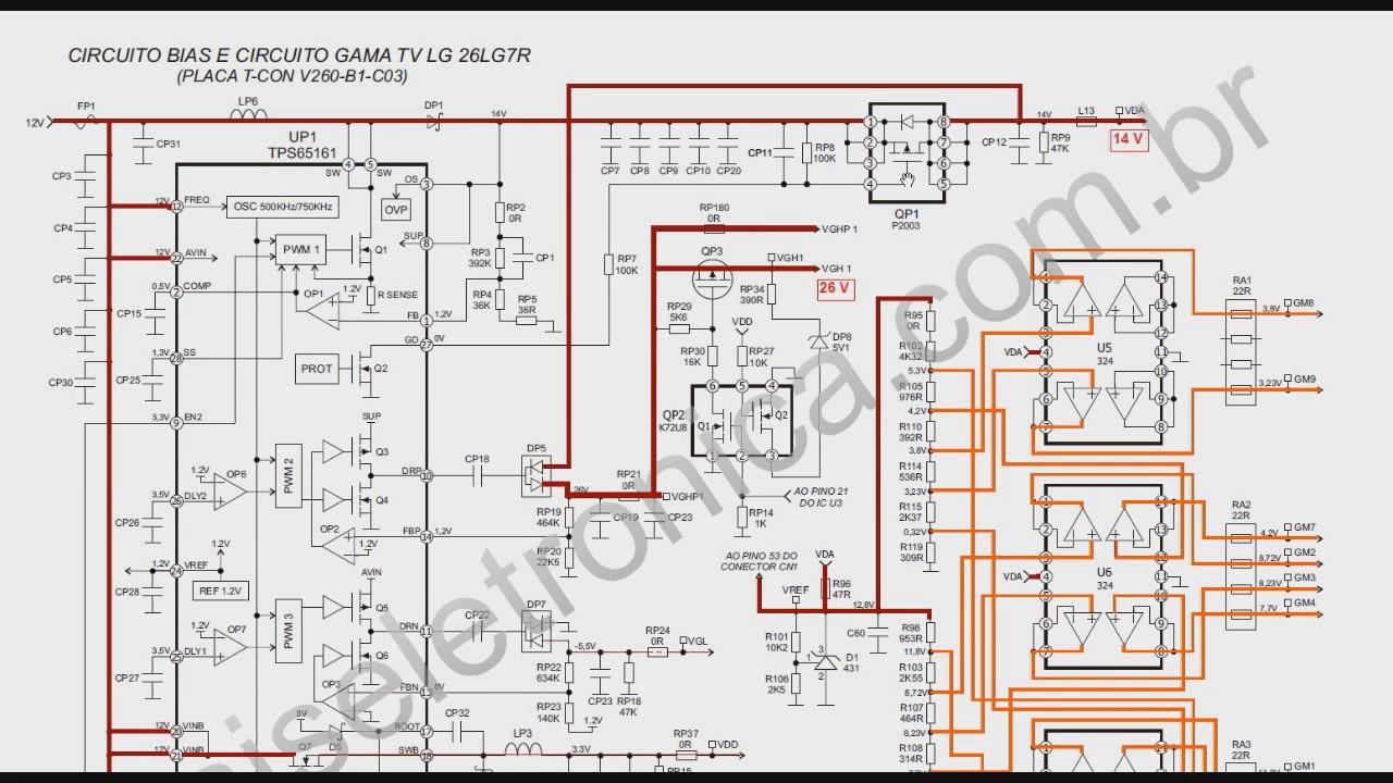 TV LCD 52 Fonte da placa T con 1 - YouTube