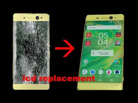 Sony Xperia Xa Ultra F3212 Lcd Replacement