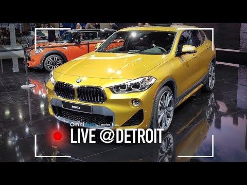 BMW X2: ecco com'è dal vivo!   Salone di Detroit 2018