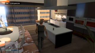 GTA V ONLINE - High Life - Richards Majestic Apt 2 - View, Price, Interior & Location