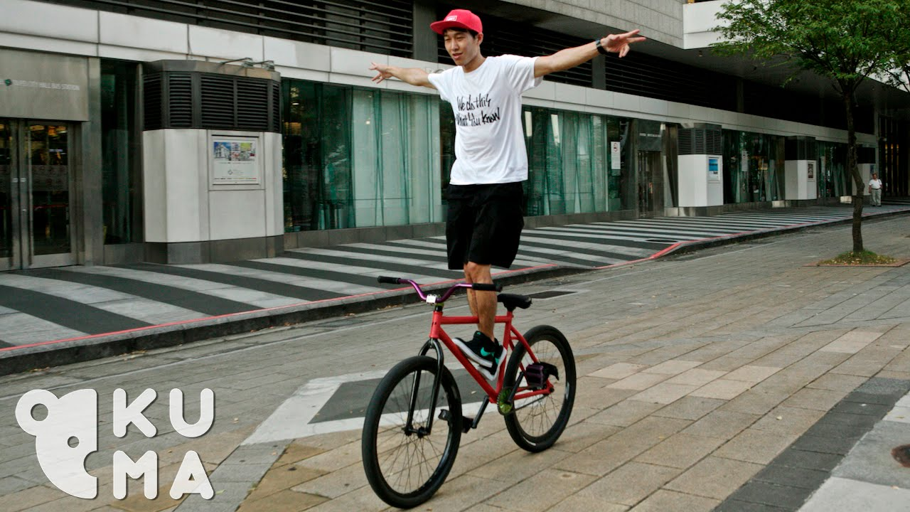 Freestyle Fixed Gear Through The Streets Of Taiwan Youtube