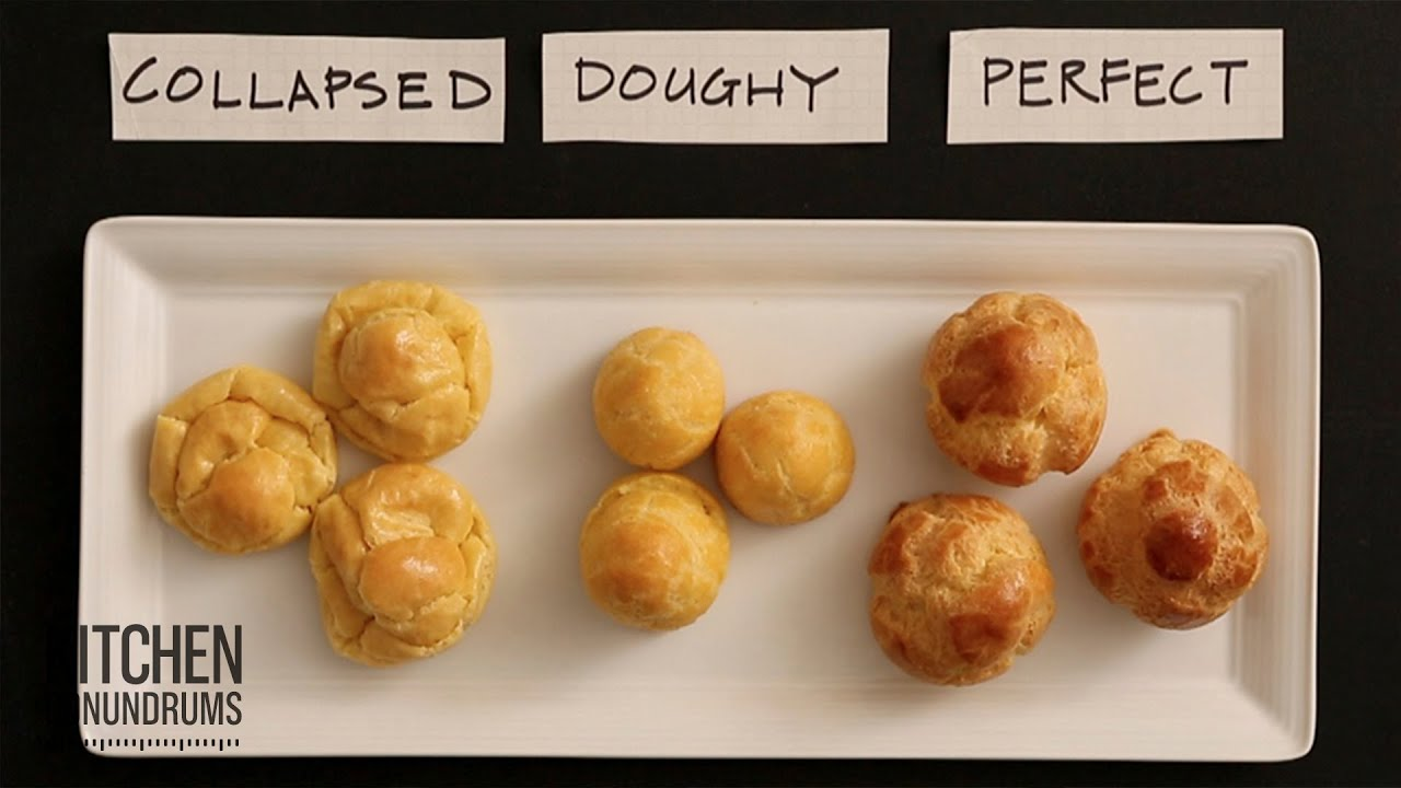 Kitchen Conundrums Cream Puffs Recipe
