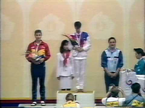 September 22, 1988 - Olympic Medal Ceremony - USA