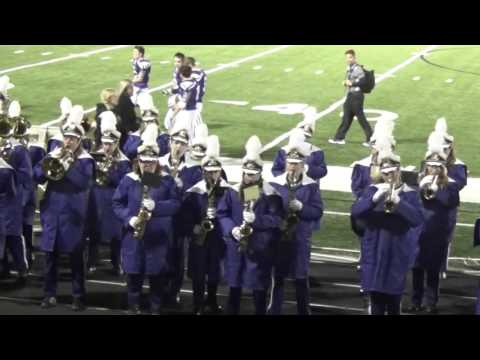 Triway High School Marching Band Post-Game Performance Oct. 23, 2015