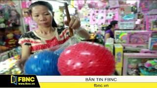 Phát hiện hai loại đồ chơi Trung Quốc có chất độc hại