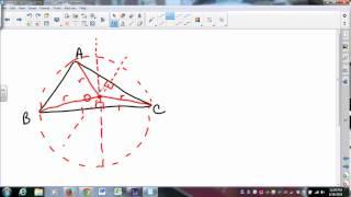 MATH335 SUNYGeneseo Circles 2 - Circumscribed Circles and Inscribed Circles