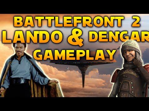 Star Wars Battlefront 2 Mods: Lando & Dengar Gameplay! [Conversion Pack + Dark Times mod]
