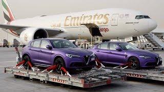 VOLANDO AUTOS DESDE DUBAI