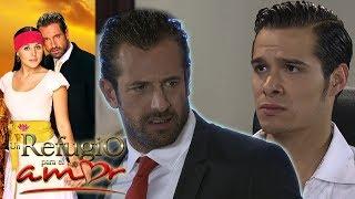 Un refugio para el amor - Capítulo 102: Patricio revela a Rodrigo que Luciana está embarazada