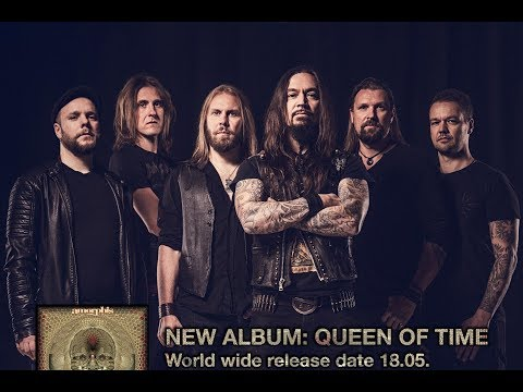 AMORPHIS' Tomi Koivusaari on 'Queen Of Time', Musical Direction & Touring with Orchestra (2018)