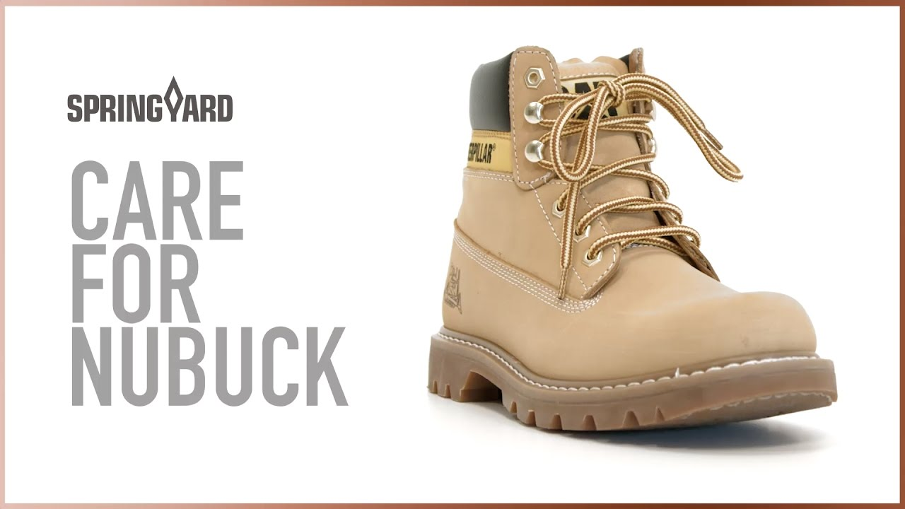 Care For Nubuck - YouTube