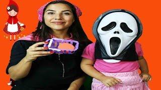 Kırmızı Başlıklı Kız Masalı / Hikayesi Maskeli Kız İle Kırmızı Başlıklı Kız Çizgi Film