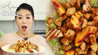 Asian at Home | Peach Glazed Chicken