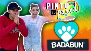 PINTE_EL_REFUGIO_PARA_TAVO_Y_BADABUN!!!_🐶_❤️_🐕🌈_Dani_Hoyos
