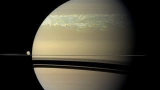 [ES Subs] NASA Planetary Science | Saturn's Record-Setting Storm HD