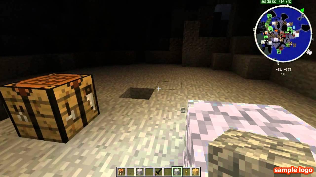 как сделать светящийся блок в майнкрафт #8