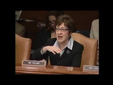 Senator Collins discusses Maine's ports and harbors