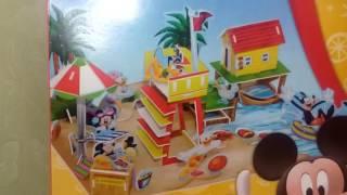 Клуб Микки Мауса открываем 3 D набор из кордона. Disney