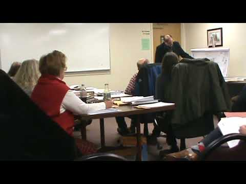 Planning Board meeting - Feb. 12, 2018