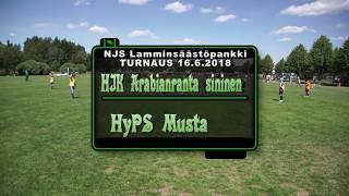 P09 HJK Arabiaranta sininen - HyPS Musta