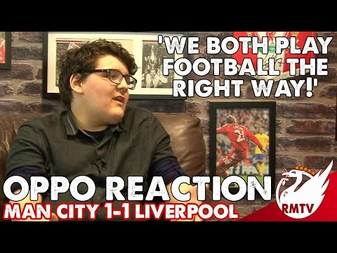 Man City v Liverpool 1-1 | 'We Both Play Football The Right Way!' | Oppo Reaction with Citizens TV
