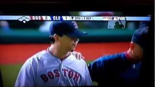 Tempers Flare in 2007 ALCS. Red Sox Indians