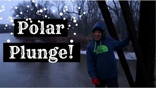 INSANE Polar Bear Plunge Snow Challenge off Bridge!