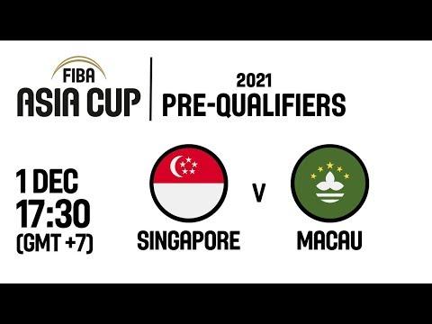 Singapore v Macau - FIBA Asia Cup 2021 Pre