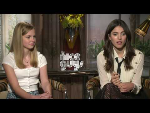 Angourie Rice Exclusive Interview - The Nice Guys clip