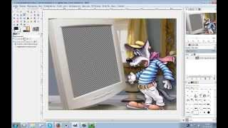 Gimp Вставка фотографий в рамки