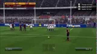 Compilation de coup franc sur FIFA 14