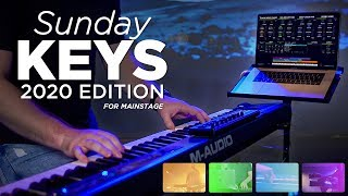 Introducing the Sunday Keys MainStage Template 2020 Edition