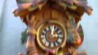 Vintage 1960's German Black Forest Coo Coo Clock