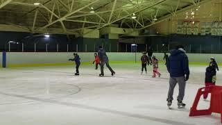 Farzam at skating