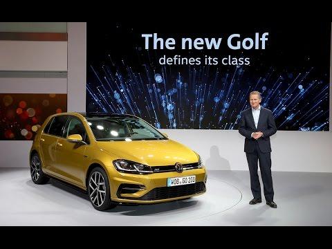 2017 Volkswagen Golf World Premiere In Wolfsburg
