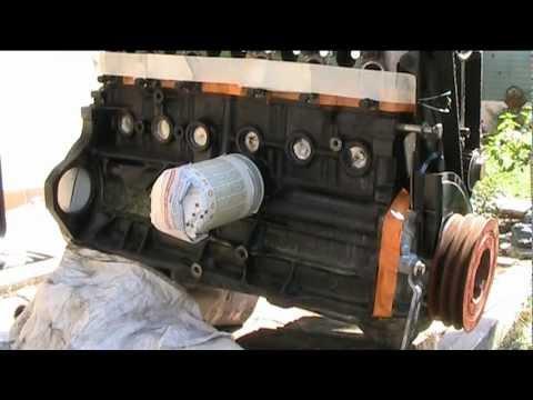 volvo diesel d24 engine paint !
