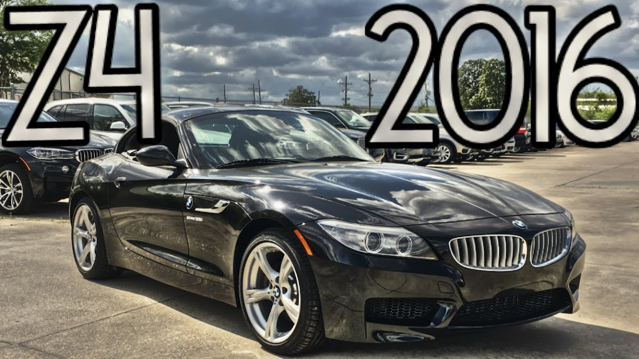 2016 Bmw Z4 Sdrive35i Full Review Start Up Exhaust Youtube