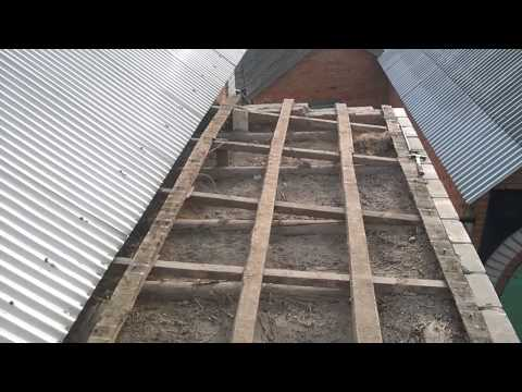 Строительство фундамента для пристройки к дому
