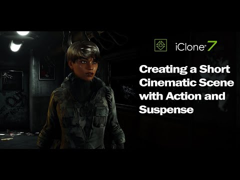 IClone 7 & Character Creator 3 - Short Cinematic Action Scene