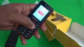 karbonn k140 mobile unboxing video