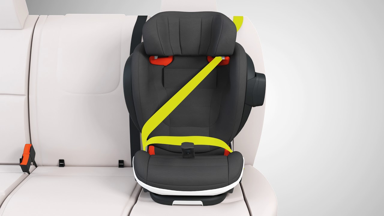 learn how to install the booster seat besafe izi flex fix. Black Bedroom Furniture Sets. Home Design Ideas