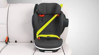 Learn how to install the booster seat BeSafe iZi Flex FIX i-Size