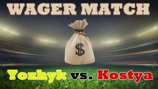 FIFA 15 / Yozhyk vs. Kostya Pavlov / Wager Match for MONEY